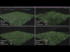 (10) How to make realistic looking grass in Cinema 4D - YouTube