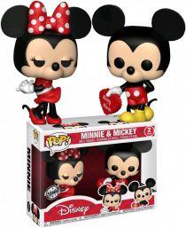 Mickey Mouse - Mickey & Minnie Valentine Funko Pop! Vinyl Figure 2-Pack