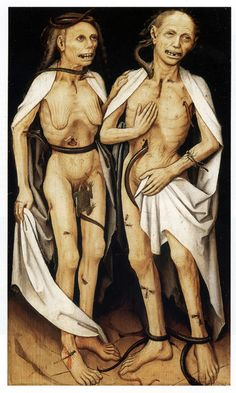 Master of the Upper Rhine, The Deceased Lovers, Death and Lust.