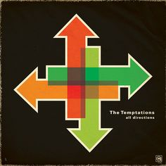 The Temptations - All Directions redesign by jprochester, via Flickr