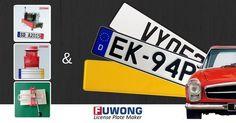 India license plate maker Euro plates maker European license plate supplier on Pinterest