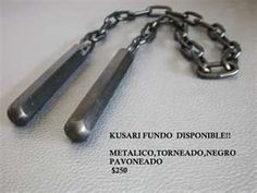 Kusari-Fundo Samurai Weapons, Medieval Weapons, Fantasy Armor, Fantasy Weapons, Martial Arts Weapons, Homemade Weapons, Lethal Weapon, Hand To Hand Combat, Enter The Dragon