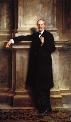 John Singer Sargent - Arthur James Balfor Arthur James Balfour, Earl of Balfour KG OM PC DL was a British Conservative politician who was the Prime Minister of the United Kingdom from July 1902 to December and later Foreign Secretary. Beaux Arts Paris, Sargent Art, Living In London, Walker Art, Oil Canvas, Oil Portrait, Portrait Paintings, National Portrait Gallery, Art Uk