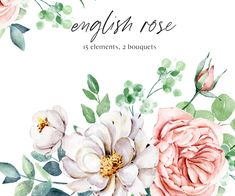 Bible Verse Canvas, Free Advertising, Frame Wreath, Seascape Paintings, English Roses, Print Templates, White Roses, Watercolor Flowers, Digital Illustration