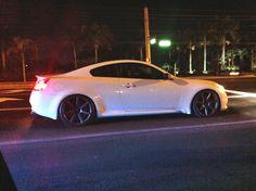 Brandon's Infiniti G37s Coupe on CV7's • Matte Graphite