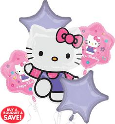 Hello Kitty Party Supplies - Hello Kitty Birthday - Party City Party City  Balloons, Birthday 653c59c046