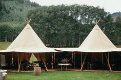 teepee reception