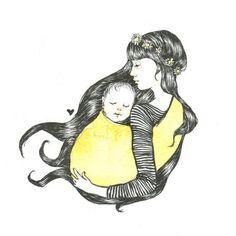 the sling diaries: michelle and odin babywearing joy! #sakurabloom