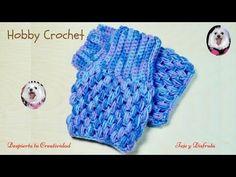 Crochet Gloves Pattern, Crochet Motif, Easy Crochet, Crochet Cactus, Crochet Flowers, Scarf Tutorial, Crochet Circles, Fingerless Mittens, Crochet Videos