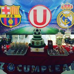 Pasión por el futbol! #ohsorpresa #candybar #kidsparty #futbol #barcelona #realmadrid #u #eventplanner #boyparty eventplanner #barcelona #kidsparty #u #ohsorpresa #candybar #futbol #boyparty #realmadrid #eventprofs #meetingprofs #eventplanner #eventtech
