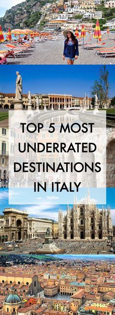 A couple weeks ago I shared my Top Five Most Overrated Destinations in Italy, and today I want to talk about the five destinations that I think are completely underrated! VeronaVeron…