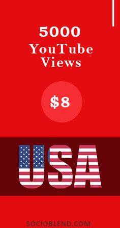 Get 5000 YouTube Views for just $8. (Users from US can pay via paypal). #Buy #YouTube #Views #USA #BuyYouTubeViews