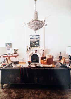 Love! Chandelier in Living Room