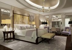 Infinity Suite at The Langham Chicago.