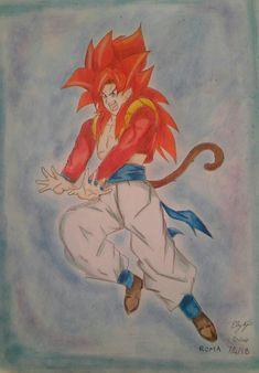 Dragonball Goku ssj4  #elykyo  https://elykyo.deviantart.com