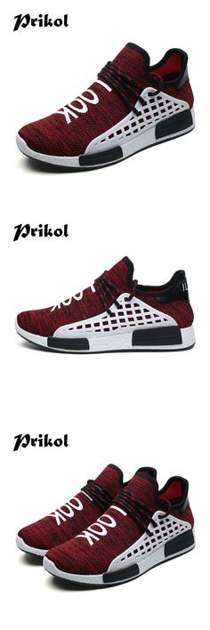 the latest fff75 4efe6 US  20.38 49% OFF Aliexpress.com   Buy Prikol Luxury Brand Summer Men Sport  Shoes Breathable Sneakers Athletic Leather Tennis Shoes Fitness Light Soft  Cool ...
