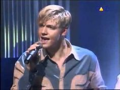 The Backstreet Boys - Shape of My Heart I have this thing for the Backstreet Boys.