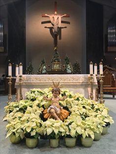 Christmas. Epiphany Of The Lord Catholic Church. Katy, Texas