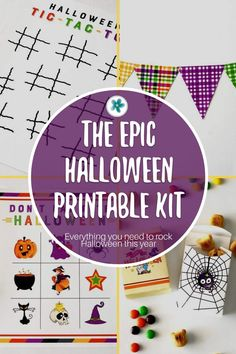 If you want to give fun gifts, make memories, and add some Halloween pizazz to your festivities the EASY way...this is the Halloween kit for you. Use this epic Halloween kit over and over for years to come. #Halloween #HalloweenPrintable #Ministering #MinisteringPrintables #LatterDaySaint #HalloweenIdeas #HalloweenKit
