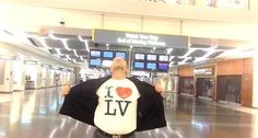 All by himself: Man uses McCarran layover to film Celine Dion music video  ...and it is epic.
