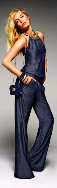 Every woman should have a great jumpsuit in their wardrobe - this would fit that bill