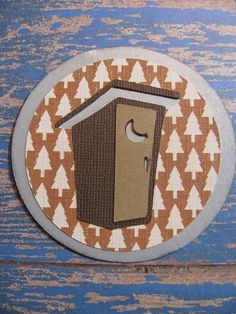 Campin Critters Badge - Outhouse