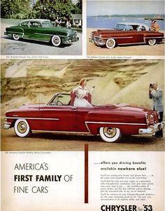 1953 Chryslers