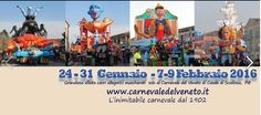 2016 Carnevale in Casale di Scodosia (Padova); Jan. 24, Jan. 31, Feb. 7, and Feb. 9;  local products and crafts exhibit and sale in Piazza Matteotti from 11 a.m.; 2 p.m. Carnevale floats parade; live music with the Seventh Train Band; entertainment with musicians and flag-throwers;  food booths featuring local specialties at the heated Sports Center at noon; entertainment with street artists and carnival rides
