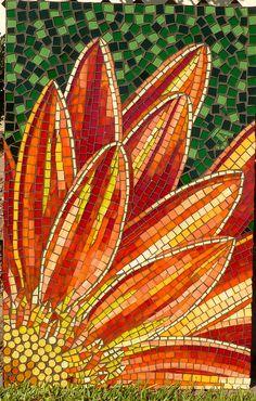 Gerbera Finished  by joolz21 (julie), via Flickr / mosaic