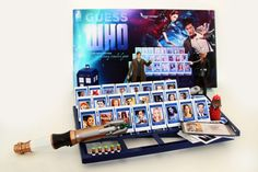 Fan-Made Doctor Who Guess Who Game...if only this were real so i could buy it!!