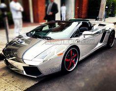 Dwight Howard Has a Chrome Lamborghini
