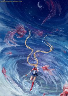 Sailor Moon by Golden5nightingale on deviantART