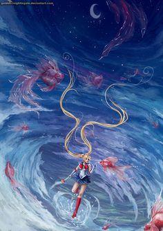 Sailor Moon by Golden5nightingale on deviantART