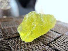 Lemon Quartz Natural Unpolished Stone (18 Grams) Crystal Healing & Collection