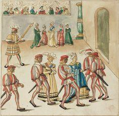German 16th Century  Masquerade, c. 1515  Rosenwald Collection  1943.3.4388  NGA open access
