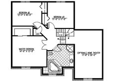 Flexible Split Level Home Plan - 90158PD | Architectural Designs - House Plans Monster House Plans, Level Homes, Home Theater, Flexibility, Family Room, Floor Plans, How To Plan, Design, Home Theaters