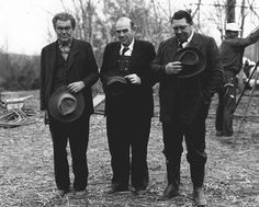 """From the movie set of Wild River, description of photo:  """"Ham, Hank and Joe John were Miss Ella's no-count sons in the movie """"Wild River."""" Joe John is played by Big Jeff Bess of Nashville, Tenn. He chucks Montgomery Clift (""""Chuck Glover"""") into the river."""" TN State Library & Archives No. 24122.jpg (2841×2279)"""