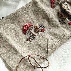 @atelier_hola  ⚫ ⚫ #embroidery #handmade #ручнаяработа #вышивка