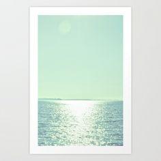 Summer Shine Art Print by Amy Hamilton   Society6