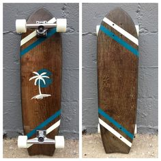 The Romance Longboard Skateboard by Salemtown Board Co.