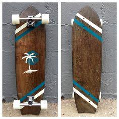 The Romance Longboard Skateboard by Salemtown Board Co.
