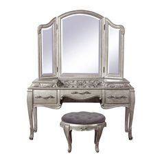 Bella Terra Vanity Mirror ($499) ❤ liked on Polyvore featuring home, bed & bath, bath, bath accessories and patina furniture