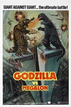 Godzilla vs. Megalon (1973) movie poster