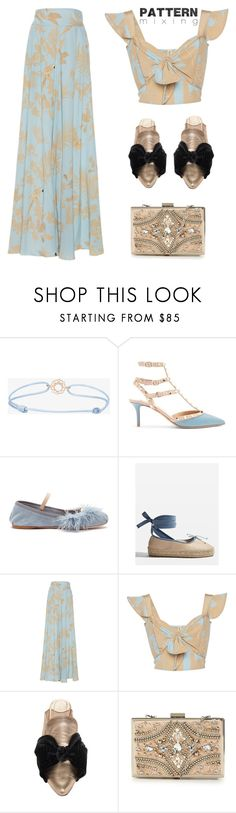 """""""Pattern Mixing"""" by yours-styling-best-friend ❤ liked on Polyvore featuring TinyOm, Valentino, Miu Miu, Topshop, Johanna Ortiz and Forever Unique"""