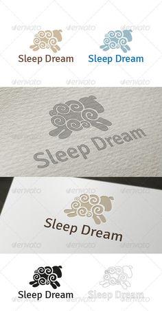 Sleep Dream Logo   PSD Template • Download ➝ https://graphicriver.net/item/sleep-dream-logo-template/3770219?ref=pxcr