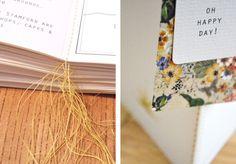 Stitched English country garden wedding stationery