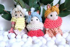 dscf7491 Diy Cadeau, Sylvanian Families, Bunny Toys, Crochet, Alice, Homemade, Dolls, Christmas Ornaments, Holiday Decor