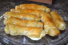 Quesitos, a popular Puerto Rican pastry.