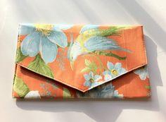 Bird of Paradise Clutch Bag - Folksy