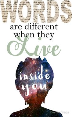 """Aristotle and Dante - """"Words are Different..."""" by Emmie Grace"""